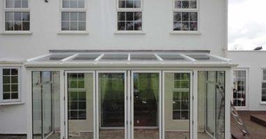 Bifold doors installed in Weybridge