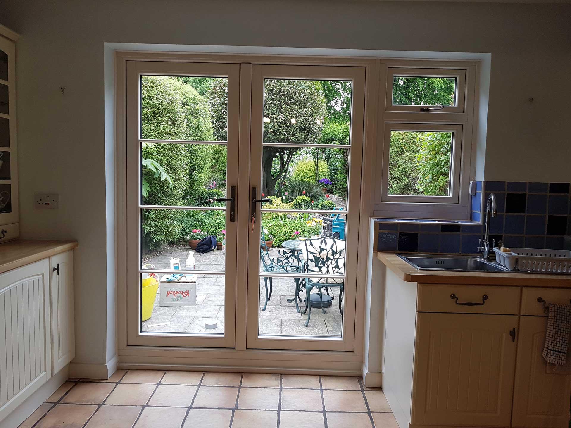 double glazed french doors surrey