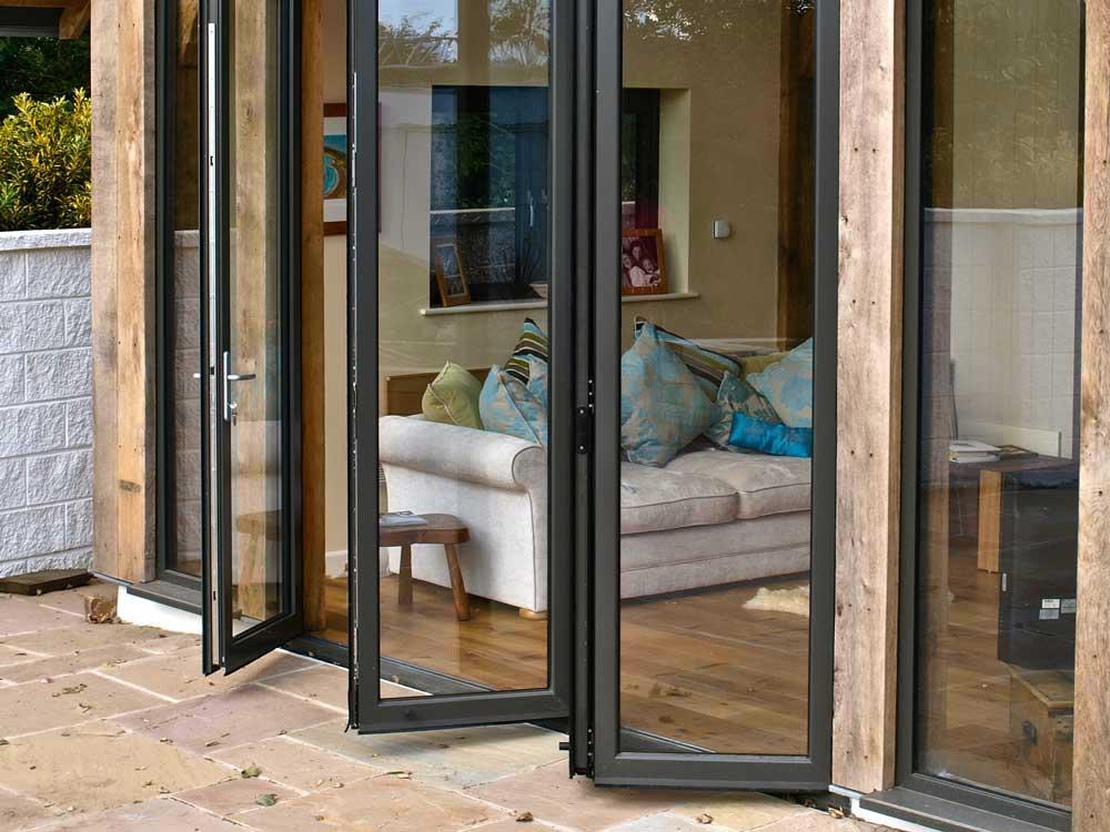Aluminium Bi-Fold Doors Weybridge