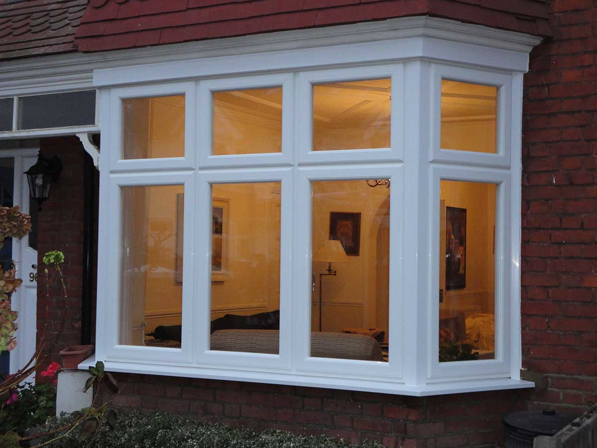 Casement Windows with White Gaskets Surrey
