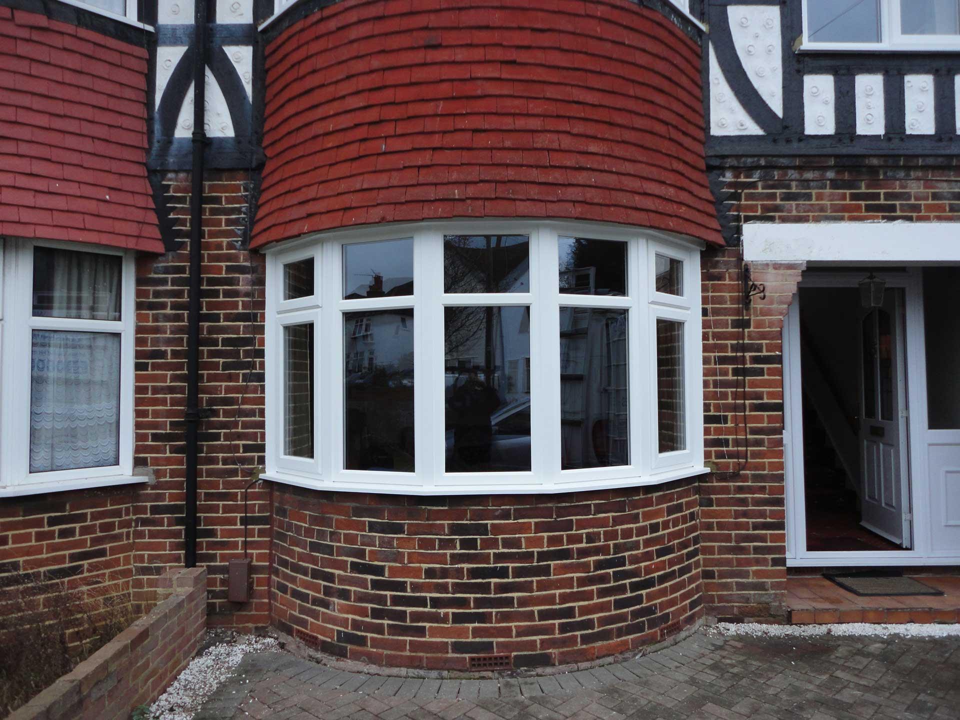 upvc bow and bay windows weybridge