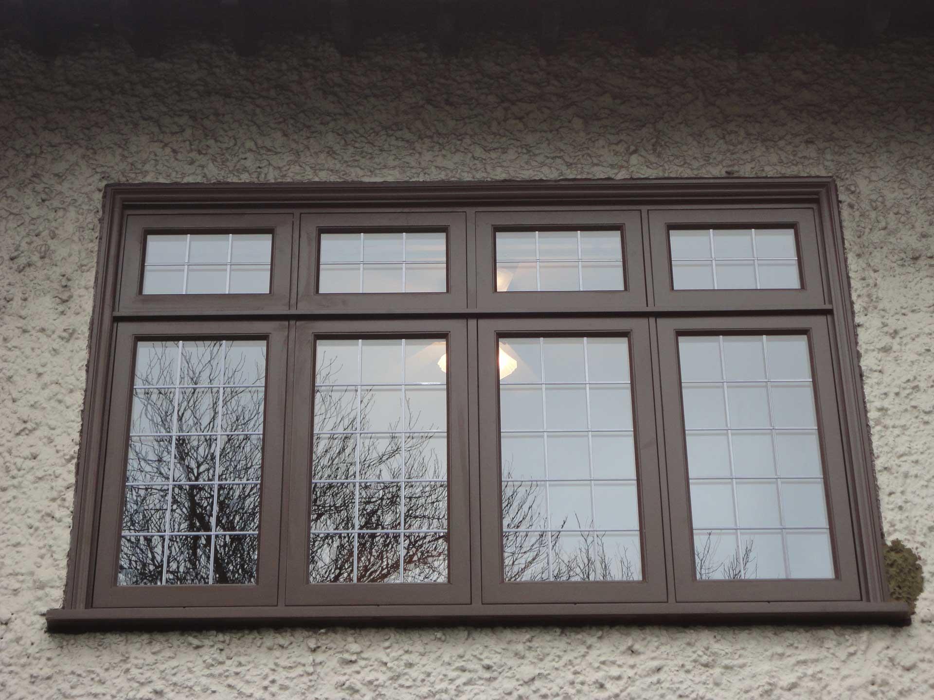 coloured timber windows surrey