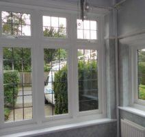 white timber windows surrey