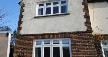uPVC French Windows Epsom