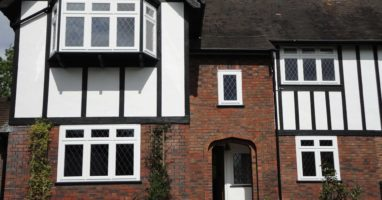 White Casement Windows Fitted Surrey