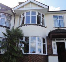 upvc bow windows weybridge surrey