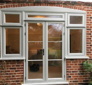 upvc french doors installed in weybridge