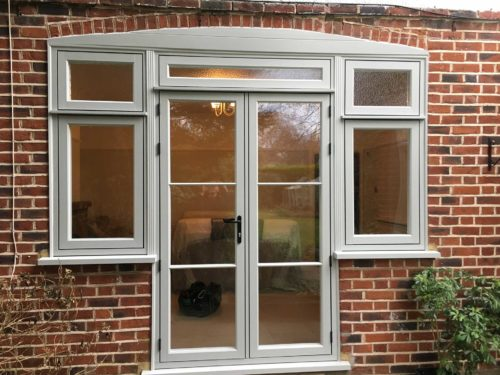 upvc french doors installed in weybridge