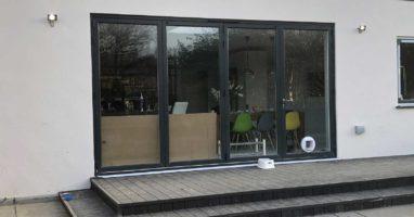 Aluminium Bi-Fold Doors Epsom