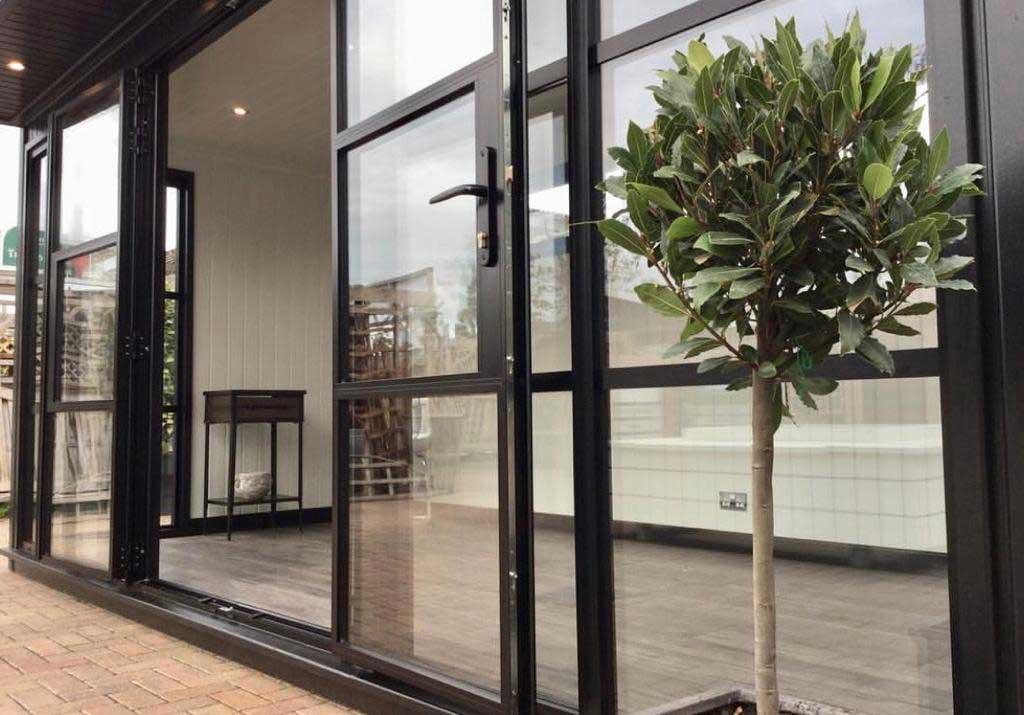 Extension Steel Look Doors Weybridge