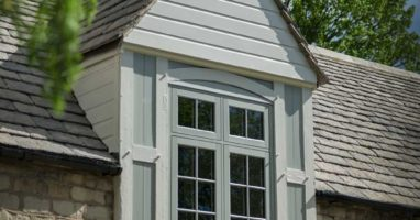 Wood Effect Casement Windows Weybridge