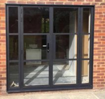 Steel Look Windows Weybridge Surrey