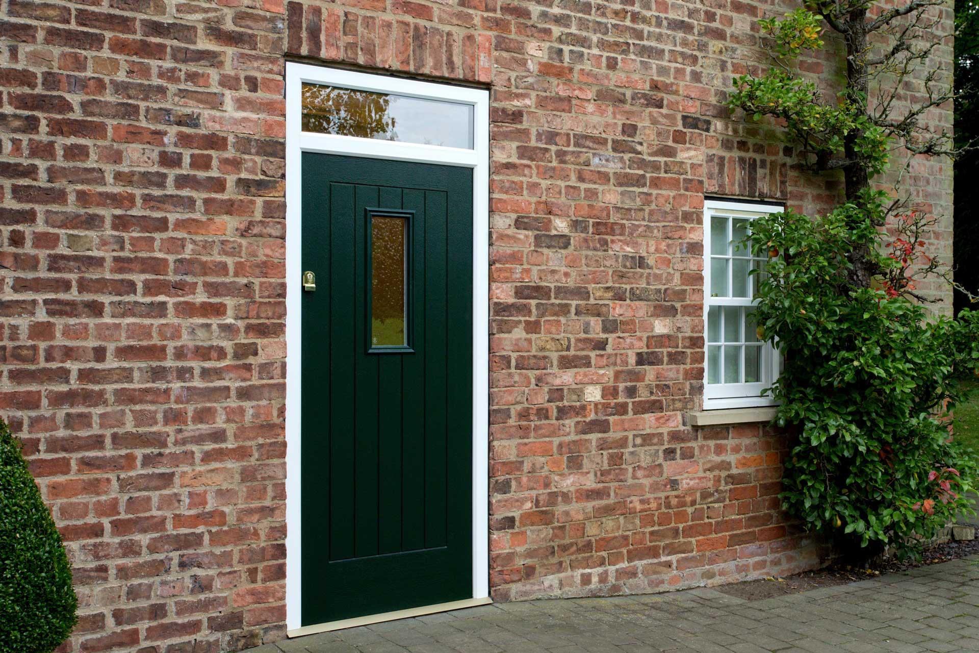 coloured front doors weybridge