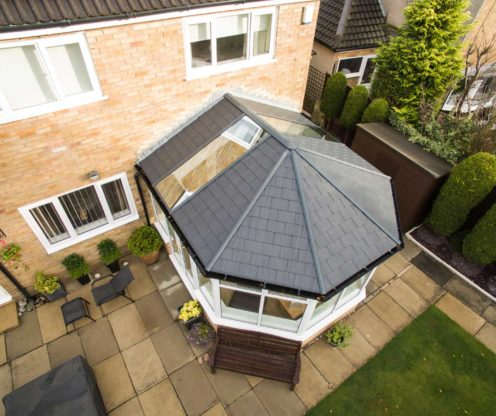 tiled roof conservatory weybridge
