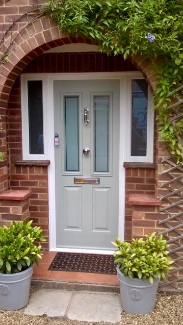 Ludlow Solidor Door in Painswick Grey