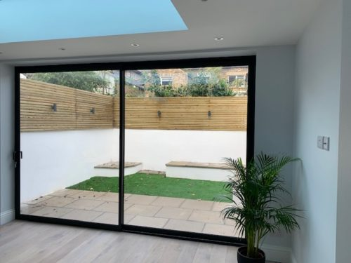 Slim Sliding Patio Doors Weybridge Surrey