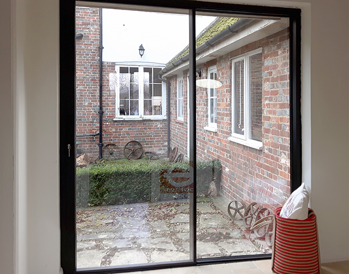 Steel Look sliding doors weybridge