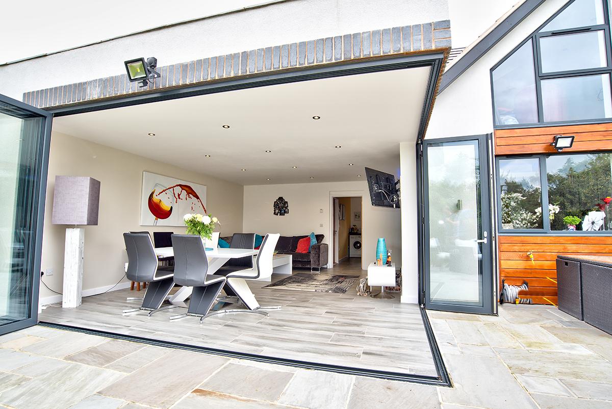 Schuco Bifold Doors, Surrey