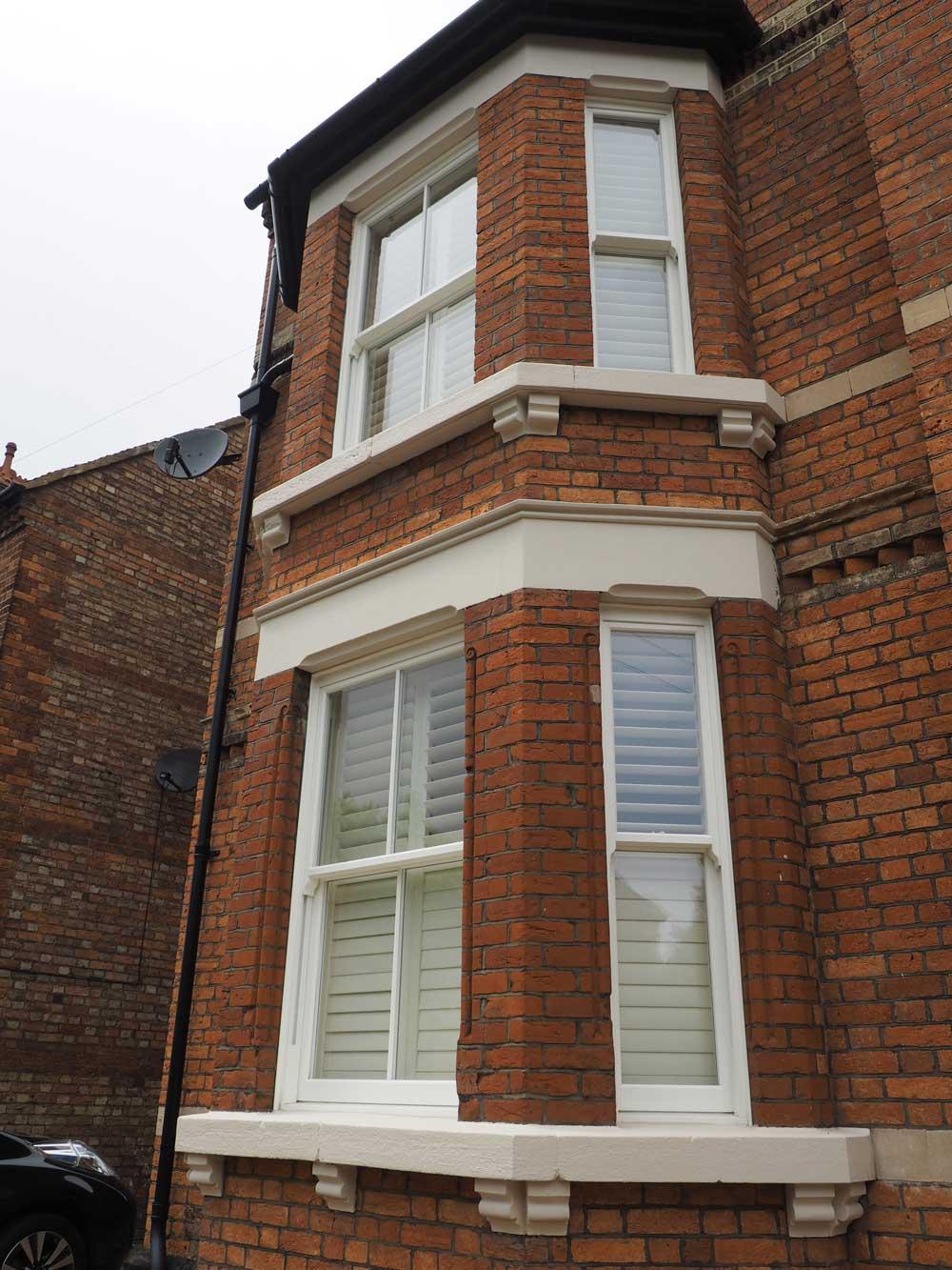uPVC sliding sash windows esher
