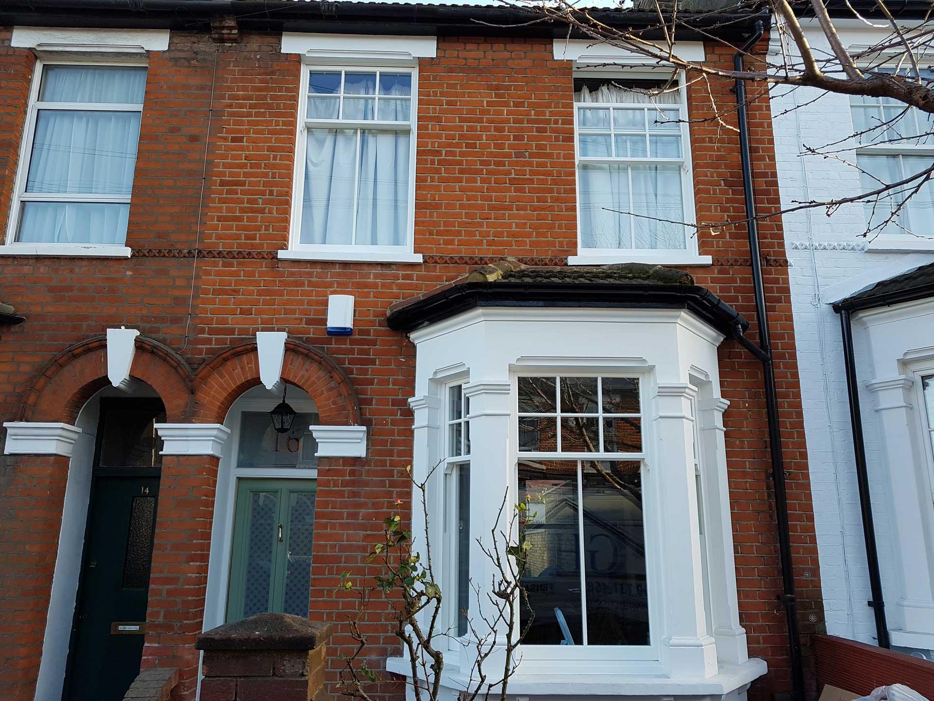 weybridge sash windows installer