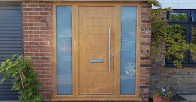 Composite Doors with Double Glazing Esher