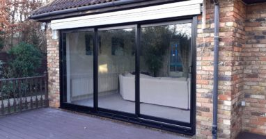 weybridge aluminium door styles