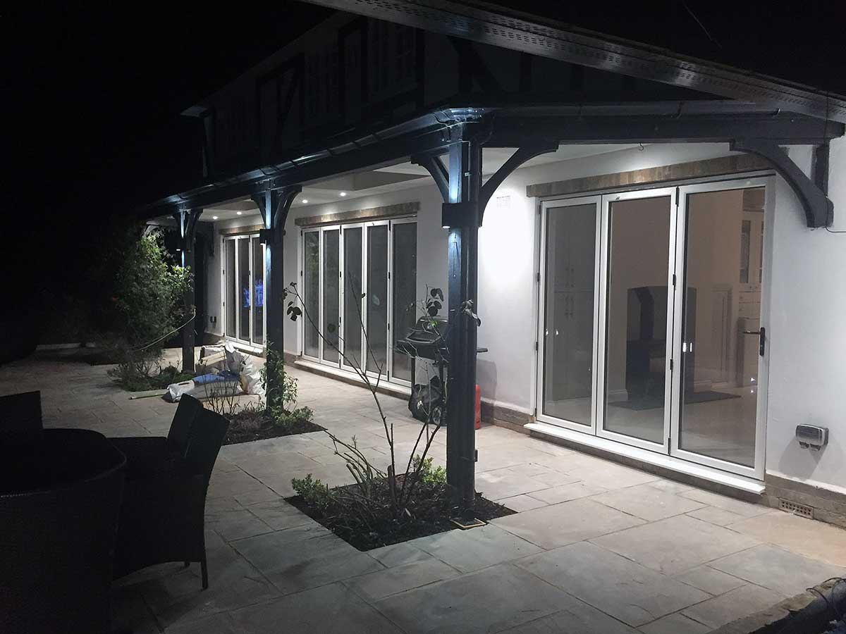 double glazed aluminium doors weybridge