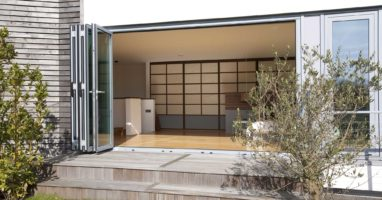 shuco bifold doors installed in london