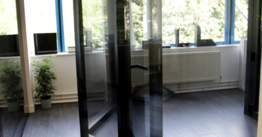schuco bifolding doors installed in london