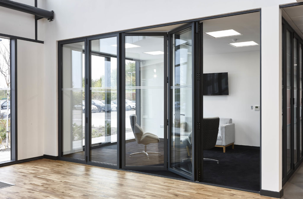 real schuco folding doors surrey