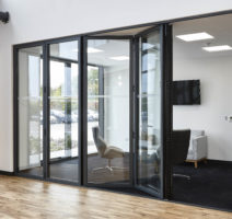 london schuco bifold doors