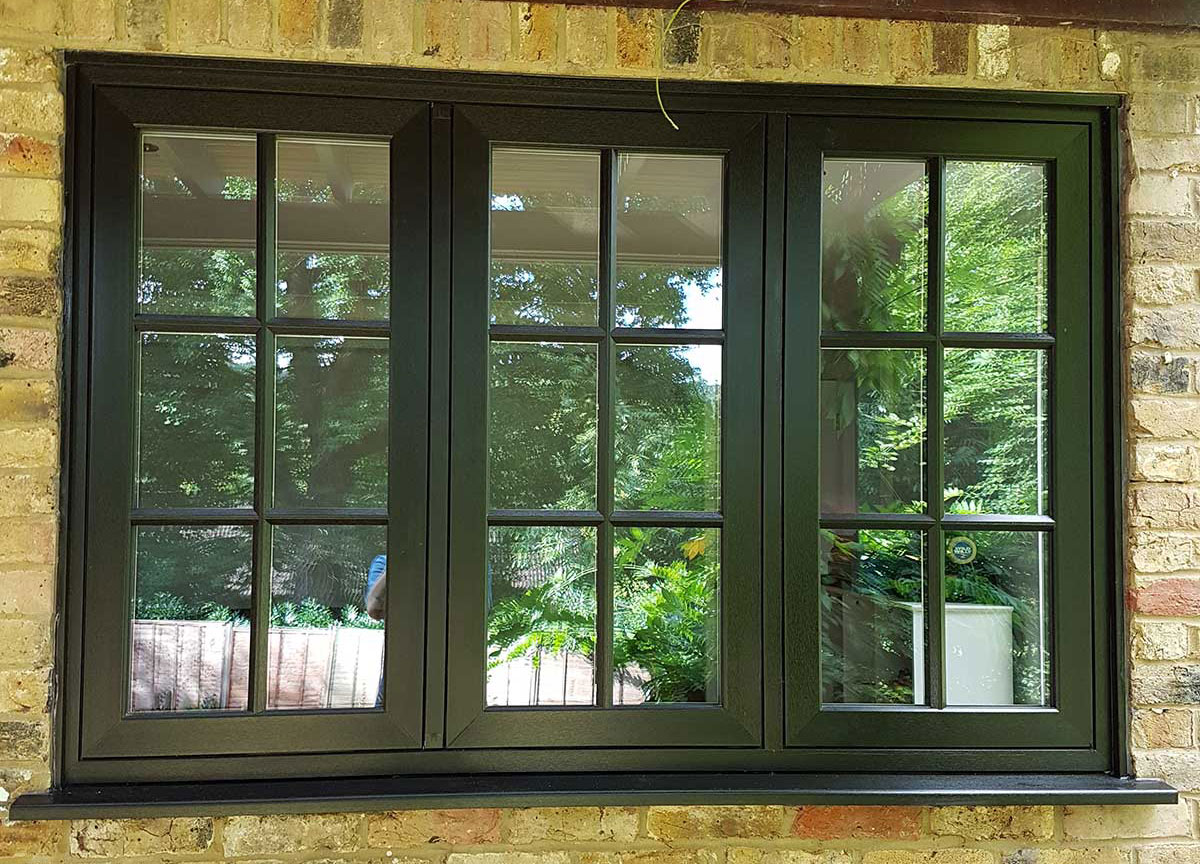 flush windows installed in weybridge