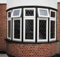 white casement windows surrey