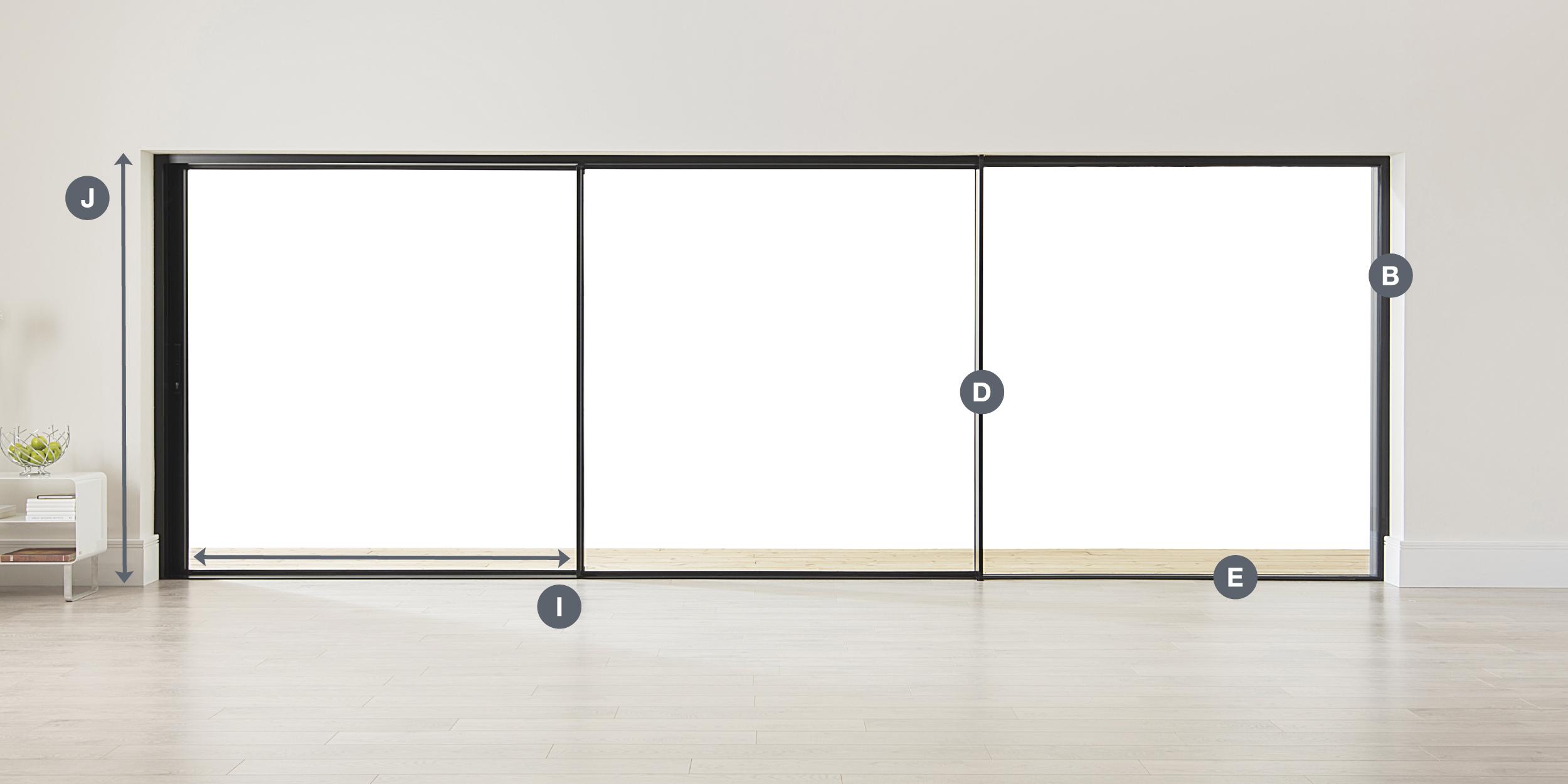 sliding doors installed in Weybridge