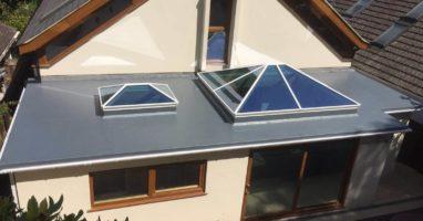 aluminium lantern skylight weybridge