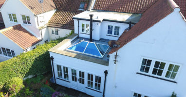 replacement aluminium roof lantern weybridge