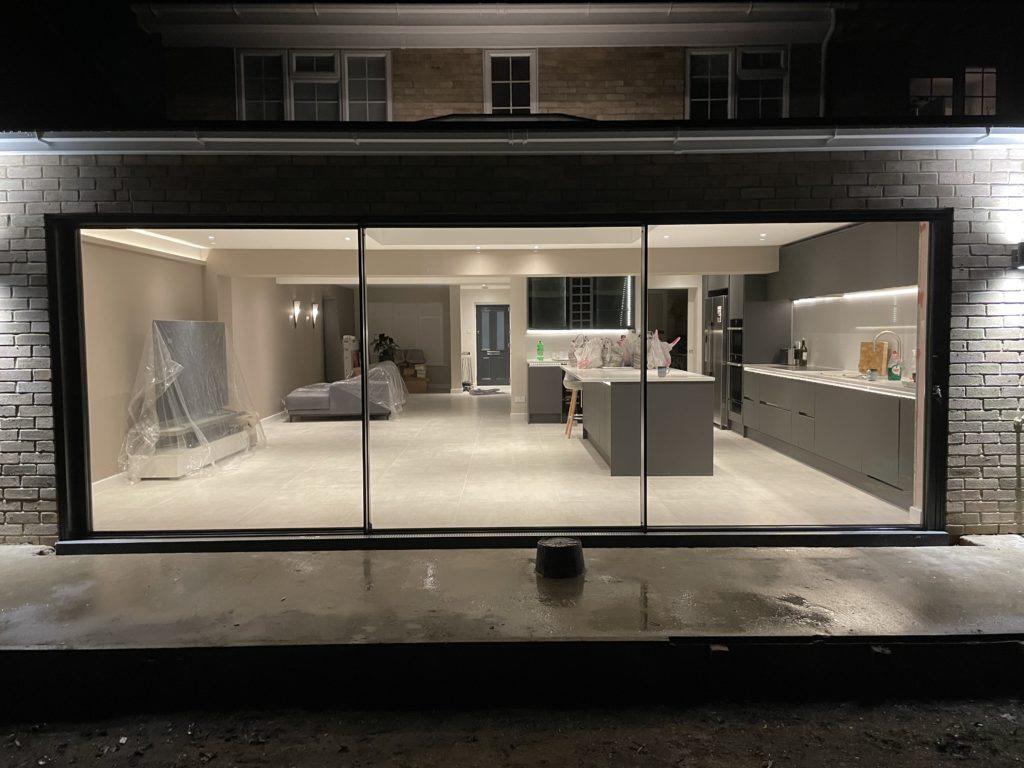 sliding doors installation walton on thames