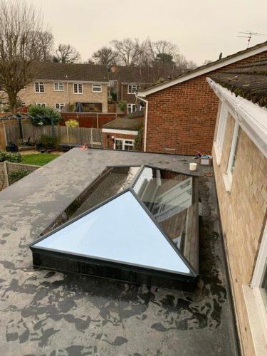 aluminium roof lantern surrey