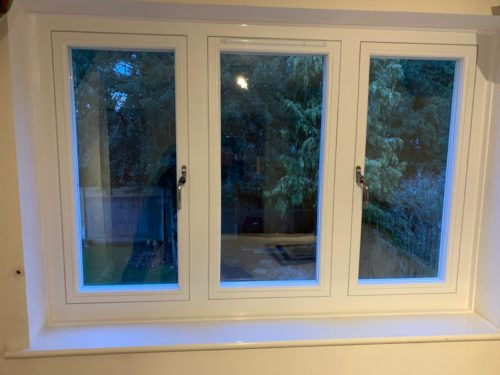 flush sash windows installed in surrey